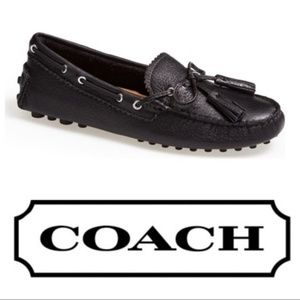 Coach Nadia Leather Driving Loafer